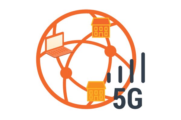 5G technology connecting homes and devices