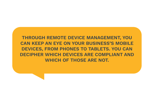 Remote Device Management tips