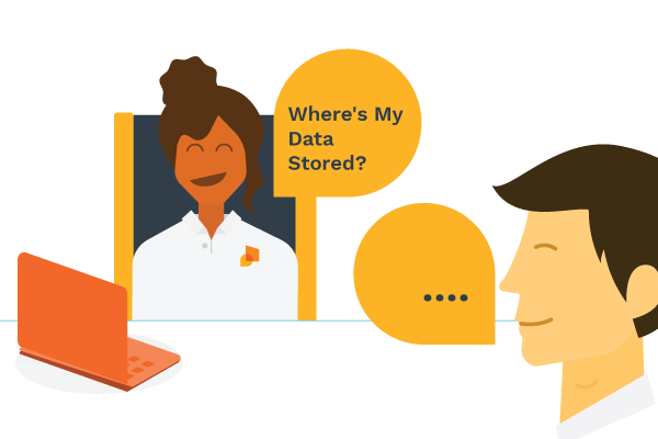 employee asking where is my data stored?