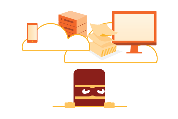 Devices in the cloud protected from hackers