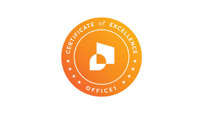 Certificate of excellence Office1