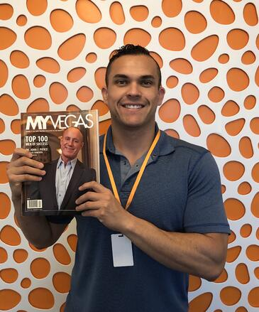 Chris Chavez featured in MyVegas Magazine's top 100 men of success