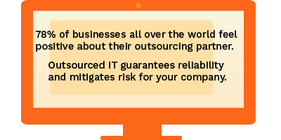 desktop information on outsourcing an IT company
