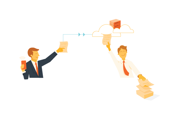 sharing documents on the cloud while working remote