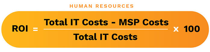 calculating the the roi of an in-house it team
