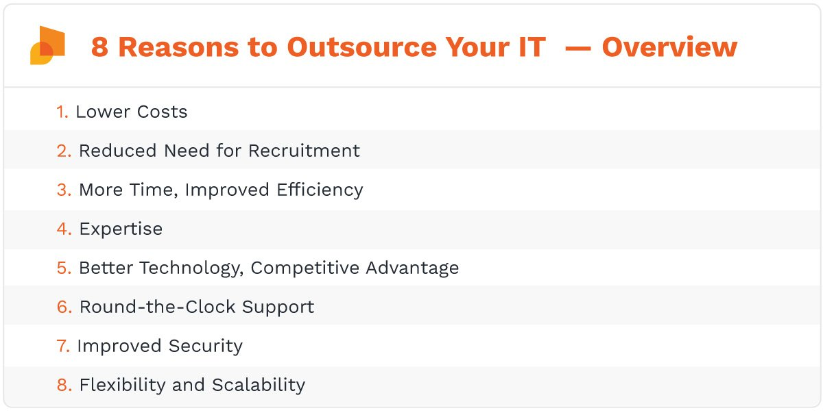 advantages of information-technology (IT) outsourcing