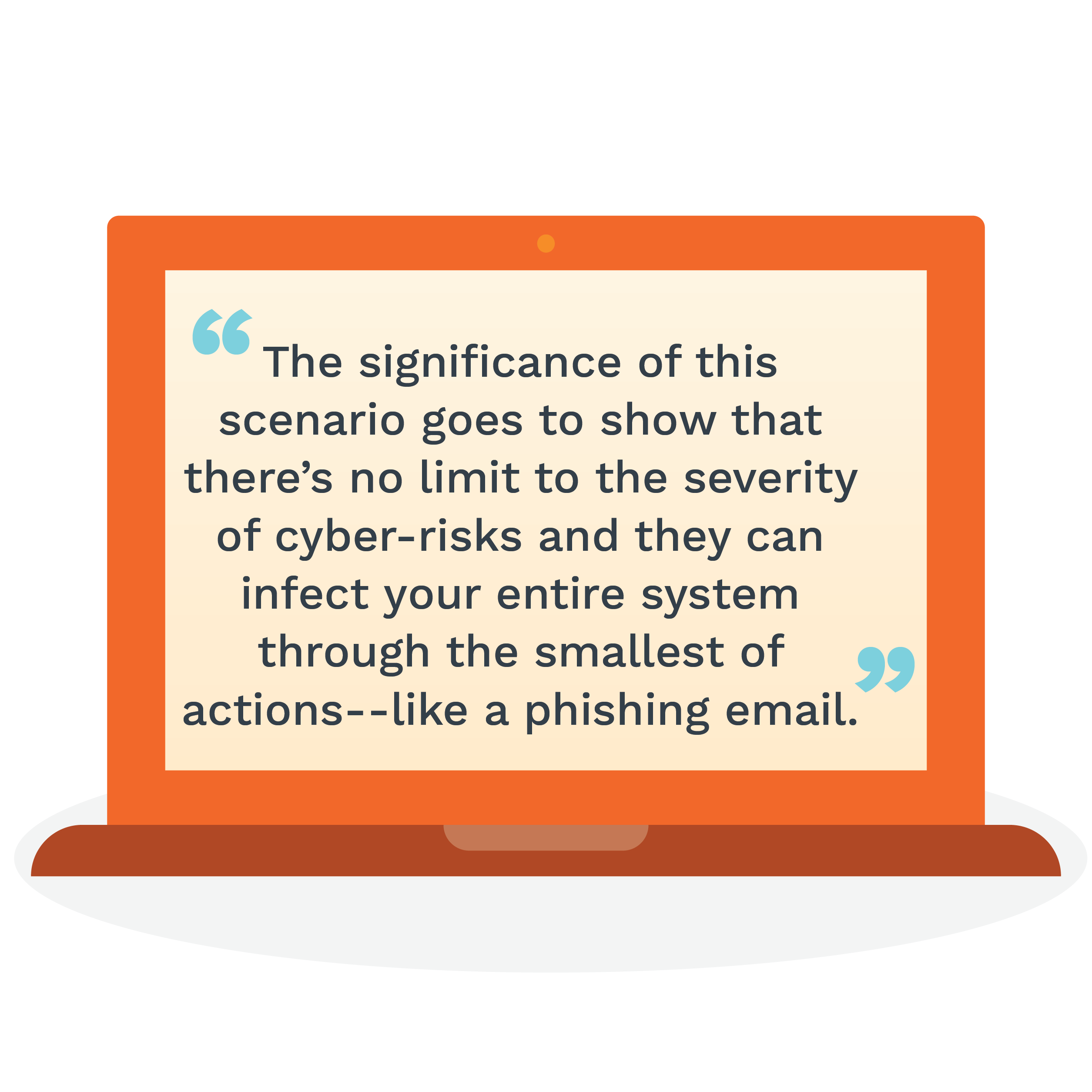 no limit to the severity of cyber risks