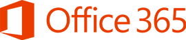 Microsoft Office 365 logo in orange text